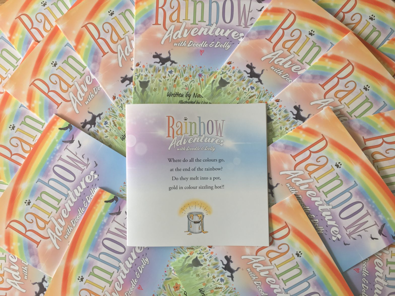 Rainbow Adventures in stores now